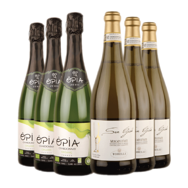 Low and Alcohol Free Sparkling Wine Duo Case