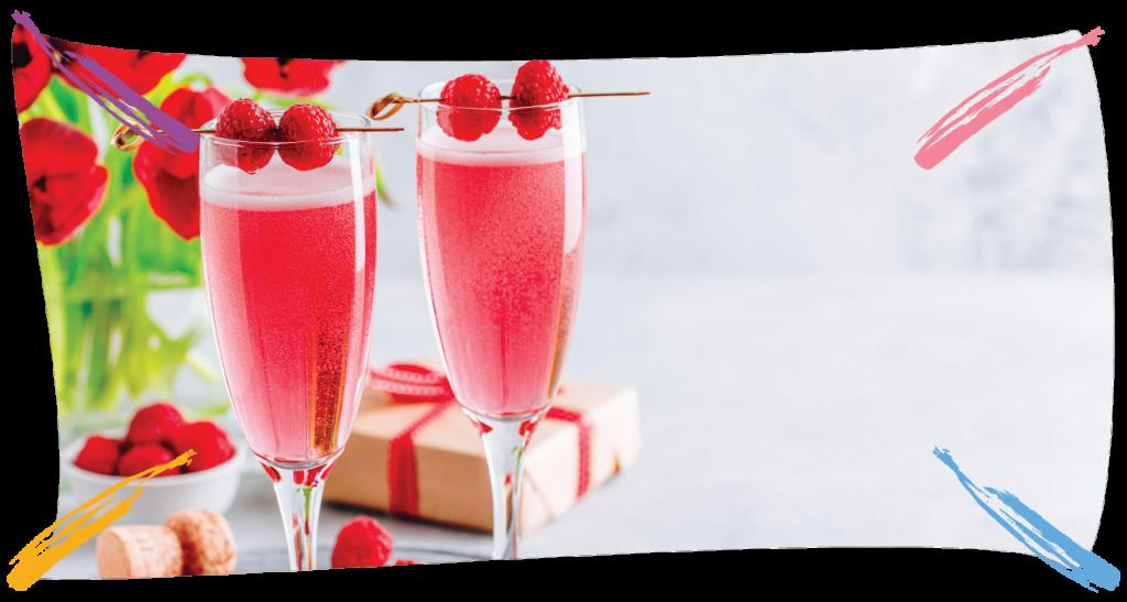 Raspberry Prosecco Cocktail